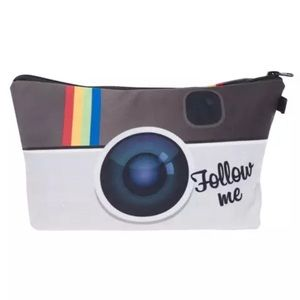 FOLLOW ME Social Media Influencer Cosmetic Tote